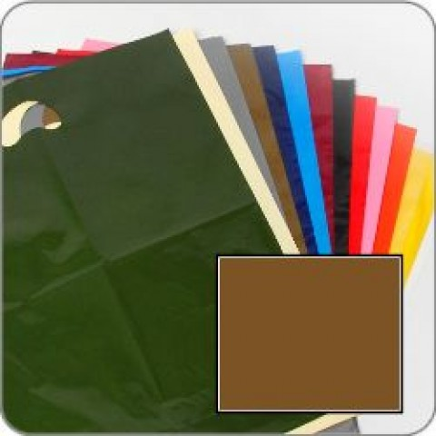 "Gold Quality Punch Handle Coloured Carrier Bags 8"" x 12"""