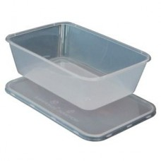 Microwave Plastic Food Containers with Lids - 750cc (750ml)