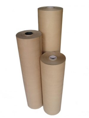 PURE KRAFT PAPER ROLLS (MG PURE RIBBED KRAFT) - 70gsm